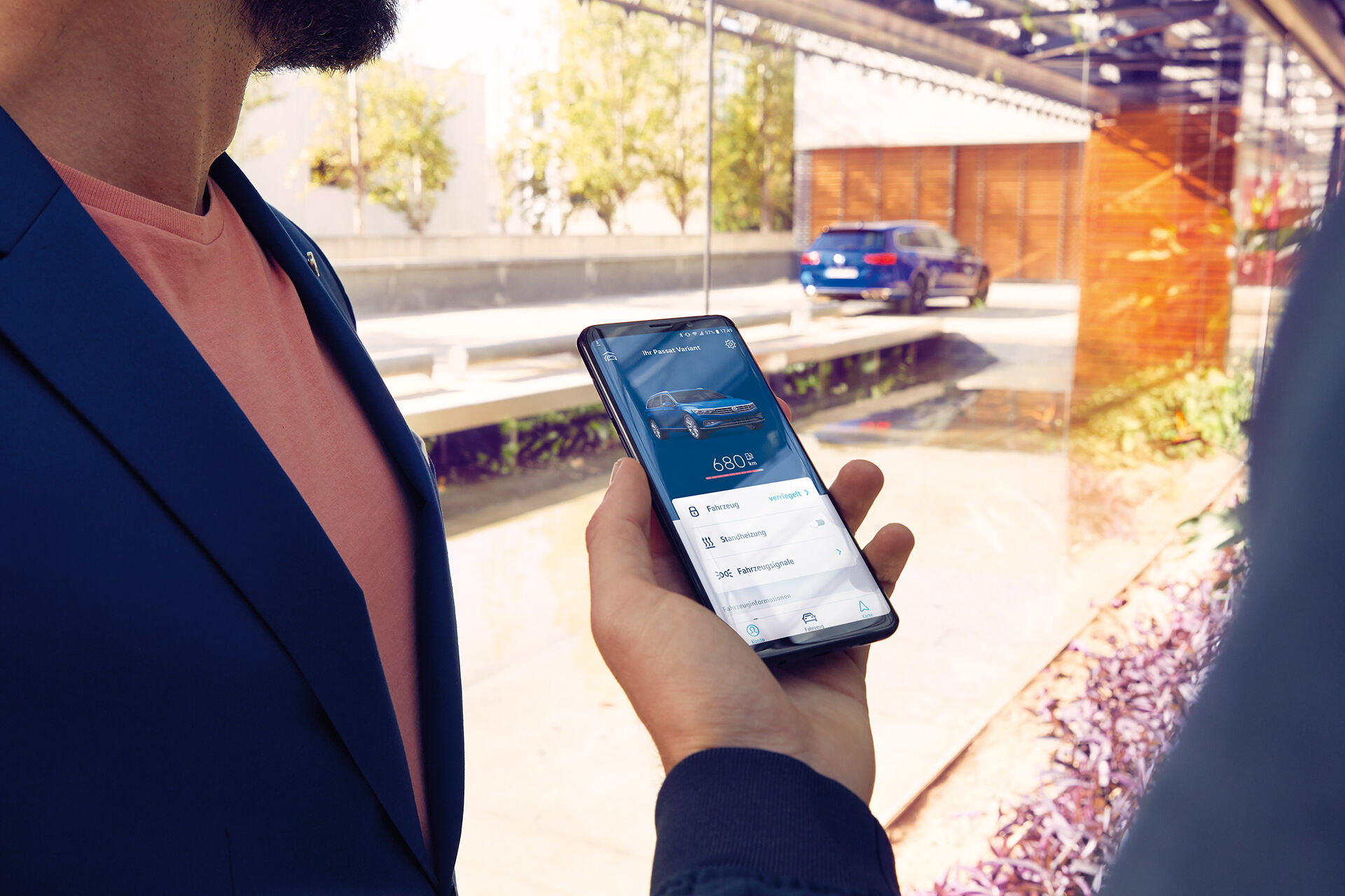 We Connect - Türen und Licht per Smartphone checken