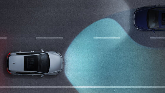 vw volkswagen dynamic light assist
