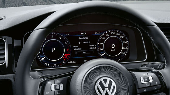 vw volkswagen active info display